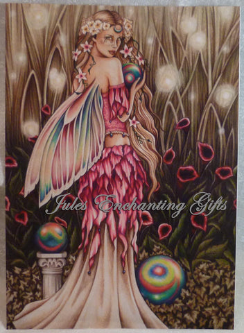 Enchanted Garden - 5 x 7 Fairy Art Print - Munro Gifts - Jules Enchanting Gifts