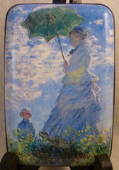 Wallet Fine Art #5 - Monet's Woman with a Parasol