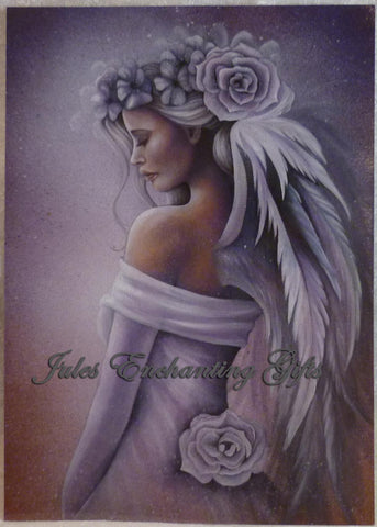 Forgiveness - 5 x 7 Fairy Art Print - Munro Gifts - Jules Enchanting Gifts