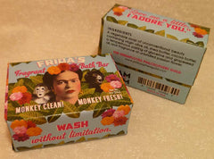 Frida's Fragrant Bath Bar Soap - Unemployed Philosophers Guild - Jules Enchanting Gifts