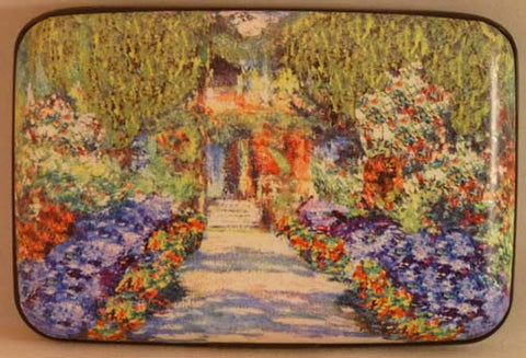 Wallet Fine Art #3 - Garden Path - Fig Design - Jules Enchanting Gifts