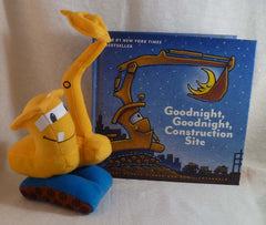 Goodnight, Goodnight, Construction Site Book and Plush Gift Set - Hachette Book Group - Jules Enchanting Gifts