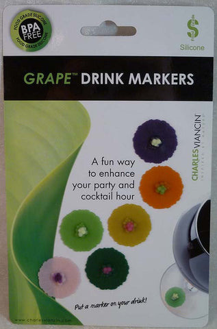 Drink Markers Grape - Charles Viancin - Jules Enchanting Gifts