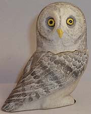 Great Gray Owl - Harmony Ball - Jules Enchanting Gifts