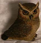 Great Horn Owl - Harmony Ball - Jules Enchanting Gifts