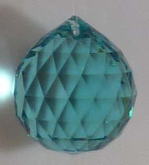 Double Faceted Ball 30mm Green - Crystals - Jules Enchanting Gifts