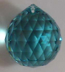 Double Faceted Ball 20mm Green - Crystals - Jules Enchanting Gifts