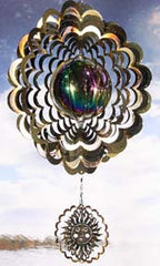 Eycatcher - Gazing Ball with Sun Antique Gold - Next Innovations - Jules Enchanting Gifts