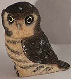 Hawk Owl - Harmony Ball - Jules Enchanting Gifts