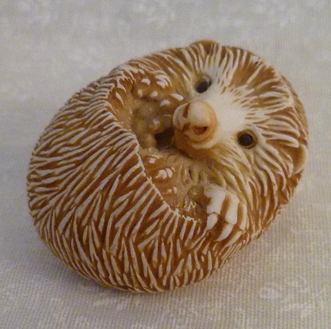Hedgehog Palm Charm