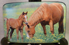 Wallet - Horse and Foal