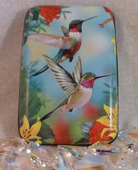 Wallet Wings - Hummingbirds Red - Fig Design - Jules Enchanting Gifts - 1