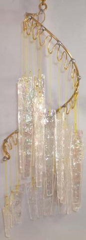 Light Opera Wind Chime - Ice Small - Winter Garden Gallery - Jules Enchanting Gifts - 1