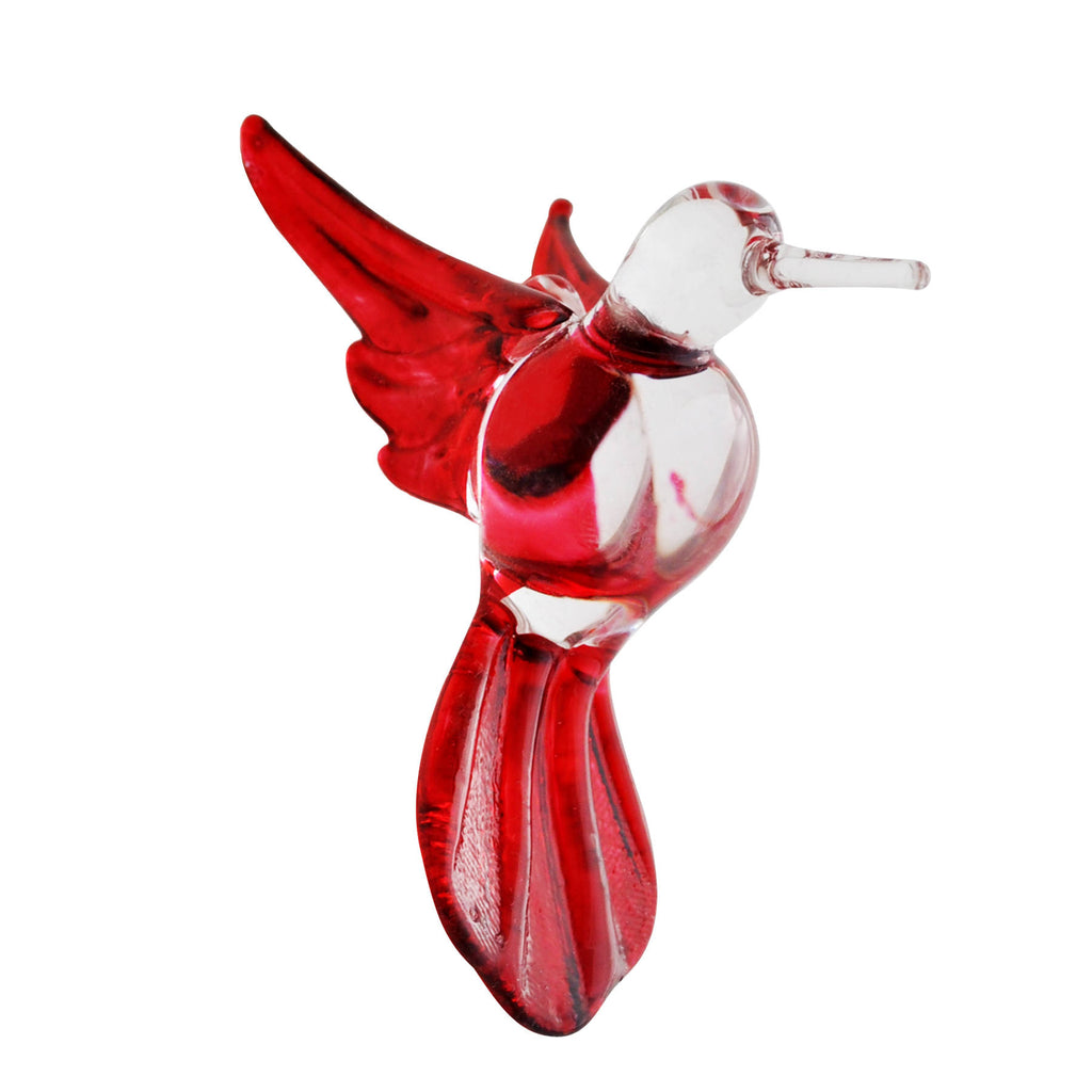 Glass Hummingbird - Red