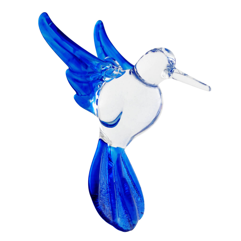 Glass Hummingbird - Dark Blue