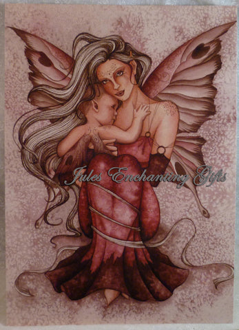 Innocence - 5 x 7 Fairy Art Print - Munro Gifts - Jules Enchanting Gifts