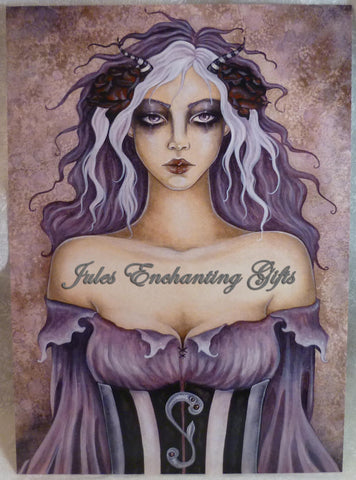 Isabeau - 5 x 7 Fairy Art Print - Munro Gifts - Jules Enchanting Gifts