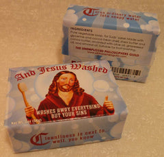 And Jesus Washed - Unemployed Philosophers Guild - Jules Enchanting Gifts