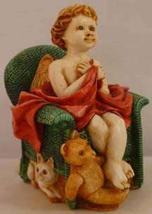 Joyeaux Green Chair - Harmony Kingdom - Jules Enchanting Gifts