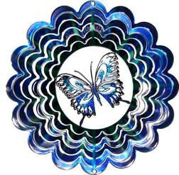 Eycatcher - Medium Butterfly Blue Kaleidoscope - Next Innovations - Jules Enchanting Gifts