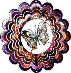 Eycatcher - Medium Butterfly Purple Kaleidoscope - Next Innovations - Jules Enchanting Gifts