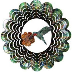 Eycatcher - Medium Hummingbird Green Kaleidoscope - Next Innovations - Jules Enchanting Gifts