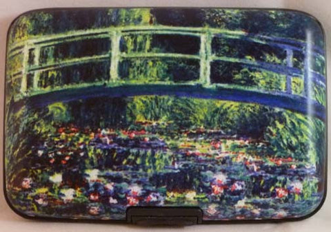 Wallet Fine Art - Lily Bridge - Fig Design - Jules Enchanting Gifts