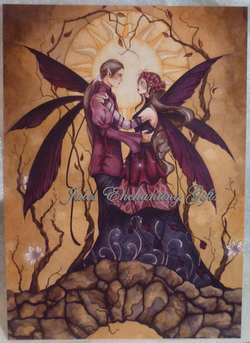 Love Springs Eternal - 5 x 7 Fairy Art Print - Munro Gifts - Jules Enchanting Gifts