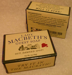 Lady Macbeth's Guest Soap - Unemployed Philosophers Guild - Jules Enchanting Gifts