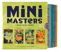 Mini Masters Board Book Set - Hachette Book Group - Jules Enchanting Gifts