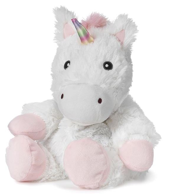 Warmies Unicorn - White