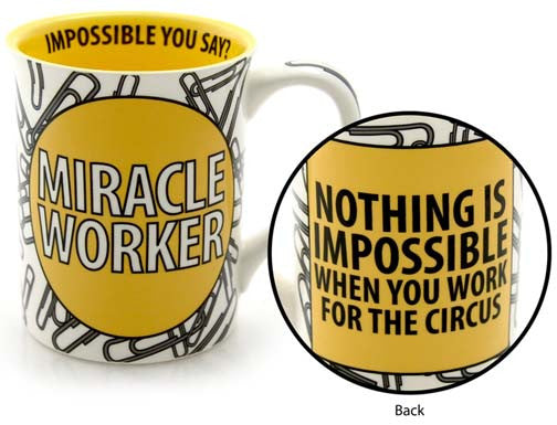 Miracle Worker Mug - Our Name is Mud - Jules Enchanting Gifts