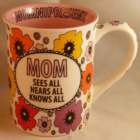 Mom Sees All Mug - Our Name is Mud - Jules Enchanting Gifts