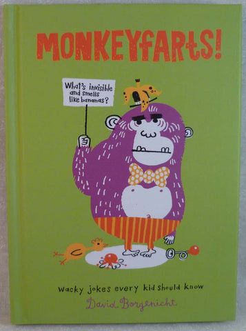 MONKEYFARTS! - Random House - Jules Enchanting Gifts