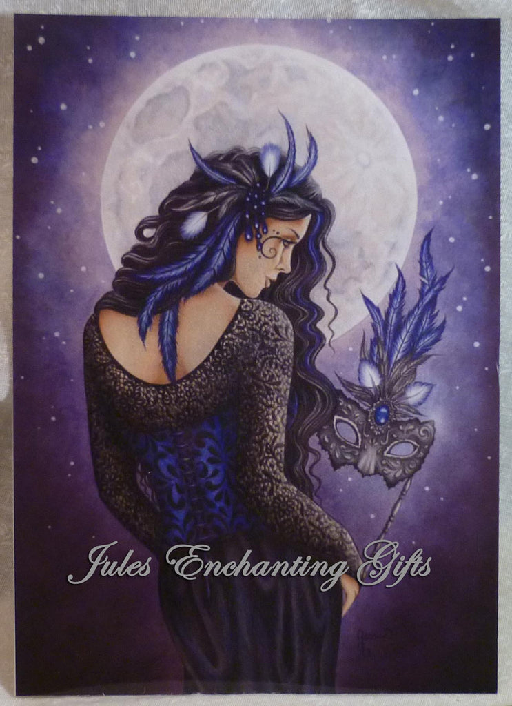 Moonlight Masquerade - 5 x 7 Fairy Art Print - Munro Gifts - Jules Enchanting Gifts