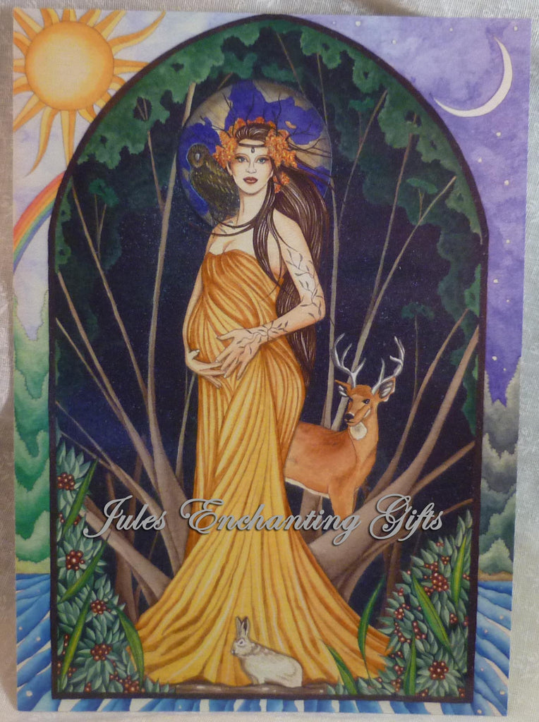 Mother Earth - 5 x 7 Fairy Art Print - Munro Gifts - Jules Enchanting Gifts