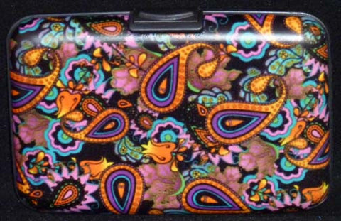 Wallet Paisley - Multi - Fig Design - Jules Enchanting Gifts - 1