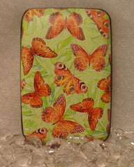 Wallet Wings - Red & Orange Butterflies - Fig Design - Jules Enchanting Gifts - 1