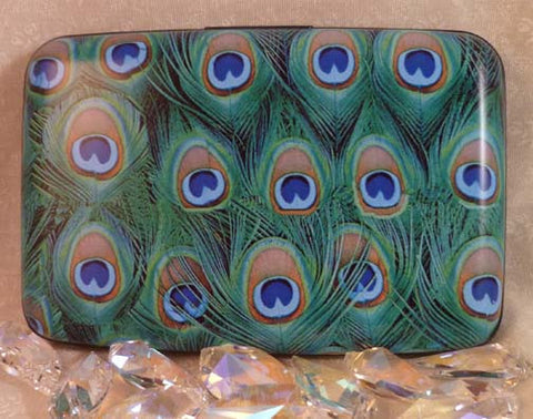 Wallet - Peacock Feathers - Fig Design - Jules Enchanting Gifts - 1