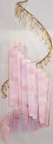Light Opera Wind Chime - Pink Wispy Medium - Winter Garden Gallery - Jules Enchanting Gifts - 1