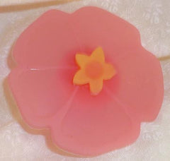 Hibiscus Bottle Stopper - Pink - Charles Viancin - Jules Enchanting Gifts