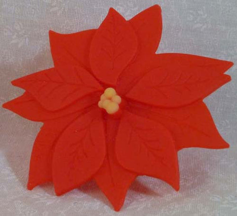 Poinsettia Bottle Stopper - Charles Viancin - Jules Enchanting Gifts