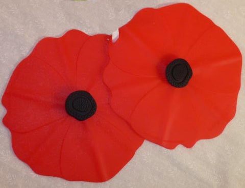 "Poppy Drink Covers 4"" Set of 2 - Charles Viancin - Jules Enchanting Gifts"