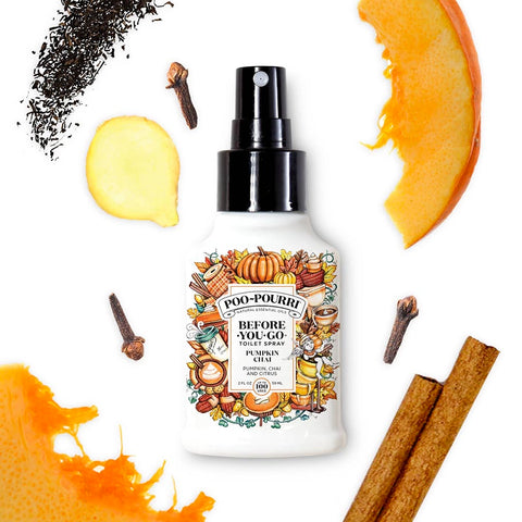 Poo Pourri - Pumpkin Chai 2oz Bottle