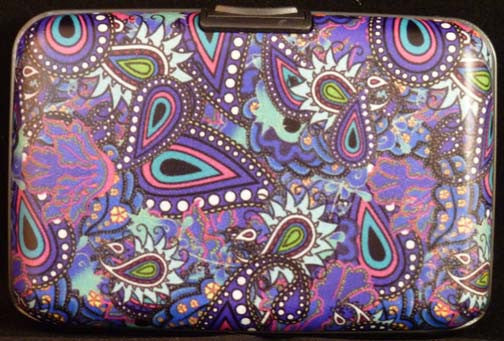 Wallet Paisley - Purple - Fig Design - Jules Enchanting Gifts