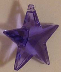 Star 28mm Violet - Crystals - Jules Enchanting Gifts