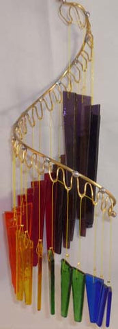 Light Opera Wind Chime - Rainbow Medium - Winter Garden Gallery - Jules Enchanting Gifts