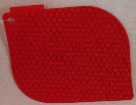 Honeycomb Potholder Sherry Red - Charles Viancin - Jules Enchanting Gifts
