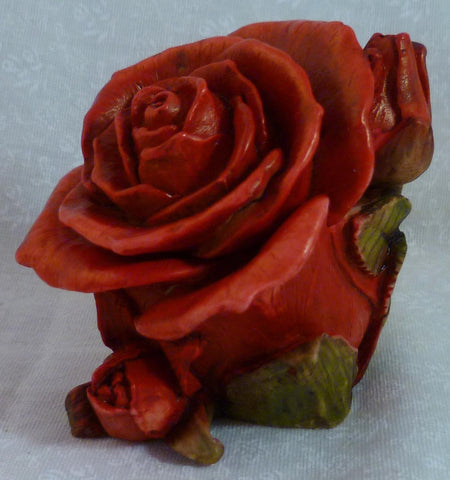 Single Red Rose - Harmony Kingdom - Jules Enchanting Gifts