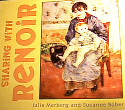 Sharing with Renoir Board Book - Hachette Book Group - Jules Enchanting Gifts